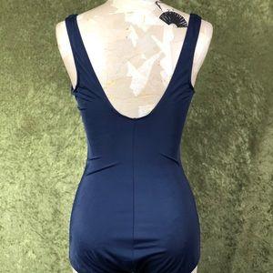 Vintage Swim - VINTAGE 💅 1990s floral one-piece swimsuit